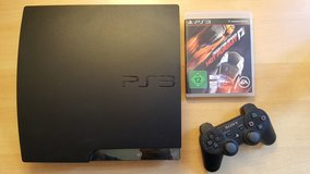 Playstation 3 / PS3 Slimline 120 GB Charcoal black with game in Stuttgart, GE