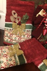 Decorative Christmas Wreath and Christmas Towels Set in Fort Bragg, North Carolina