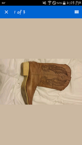 Size 8 boots in DeRidder, Louisiana