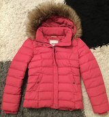 Tommy Hilfiger Down jacket in pink with luxurious fur in Stuttgart, GE