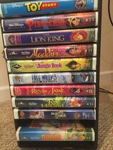21 VHS tapes (includes Disney Classics) in Naperville, Illinois