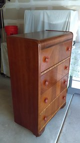 Antique Waterfall Top Dresser in Algonquin, Illinois