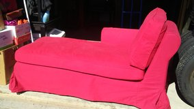 Red Chaise Lounge in DeRidder, Louisiana