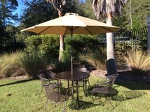 Wrought Iron Patio Set 6/Pc Reduced Big! in Beaufort, South Carolina