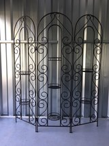 Wrought Iron Folding Screen in Beaufort, South Carolina