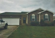 3BR/ 2BA House For Rent in Clarksville, Tennessee