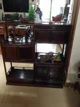 Rosewood Entertainment Shelf & Cabinet in Okinawa, Japan
