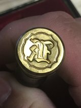 Wax seal set in Camp Pendleton, California