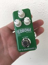 TC Electronic Corona Mini Chorus Guitar Effects Pedal in Okinawa, Japan