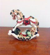Christmas Rocky Horse Figurine in Moody AFB, Georgia