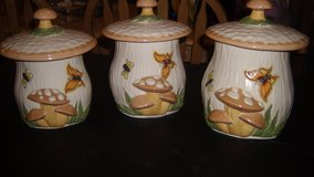 set of ceramic canisters in Fairfield, California