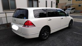 2006. Honda Odyssey. 7seater. 2yrs JCI included. Clean in Okinawa, Japan