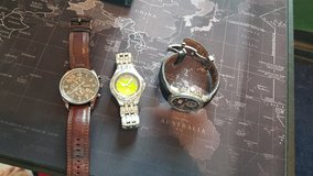 Citizen Eco Drive and 2 Fossil Watches in Ramstein, Germany