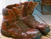 LEATHER/INSULATED STEEL TOE WORK BOOTS, MEN'S LG-XXLG SHIRTS, PANTS, BLUEJEANS in Rosenberg, Texas