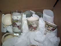 Friendly Village Pattern - Cups, Saucers and Drinking Glasses in Kingwood, Texas