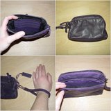 Real leather purple wallet or clutch in Ramstein, Germany