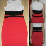 white black red pencil dress in Ramstein, Germany