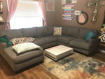 Gray sectional couch in Perry, Georgia