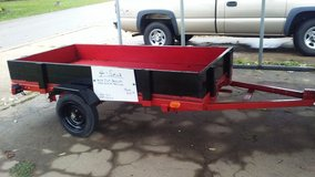 (PRICE  REDUCED !!)  New 4x8   TILT  BED UTILITY  TRAILER w SIDE RAILS in Fort Leonard Wood, Missouri