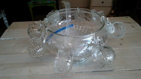 Punch Bowl with Cups in DeRidder, Louisiana