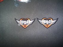 Harley Davidson Winged Heart Patches #3 in Spring, Texas