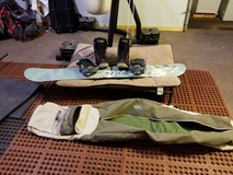 Salomon Snowboard with boots in Fairfield, California