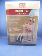 SIMPSON Crack-Pac Flex H2O Crack Sealer for Concrete and Masonry - NEW in Sandwich, Illinois