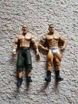 2 WWE Figures in Camp Lejeune, North Carolina