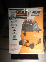 RIGID 14 Gallon Wet/Dry Vac - BRAND NEW in the original box in Sandwich, Illinois