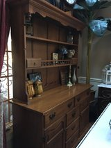 : ) Beautiful Maple Buffet & Hutch >>> Very Nice !!! in St. Charles, Illinois