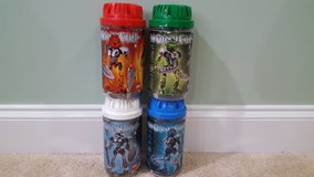 2002 Lego Bionicle ORIGINAL TOA NUVA - Set of 4 out of 6 - 66% Complete (8567 8570 8571 8572) in Warner Robins, Georgia