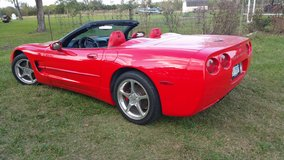 2000 Corvette Red Convertible in Pearland, Texas