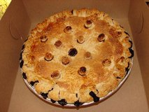 Organic Blueberry Pie in Yucca Valley, California