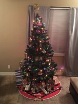 6.5' Fake Christmas Tree w/o Lights in Temecula, California