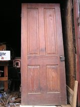 Oak Doors from 100+ year old house in Fort Rucker, Alabama