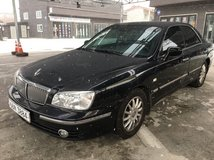 2003 Hyundai Grandure-Auto-Black on Black-Good running cond in Osan AB, South Korea