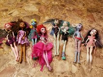 Monster High Dolls - sold as a lot only in Fort Leonard Wood, Missouri