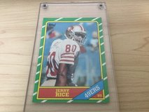 Jerry Rice rookie card in Okinawa, Japan