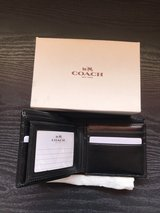 New men's Coach wallet in Vista, California
