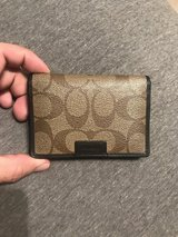 Men's Coach wallet in Vista, California