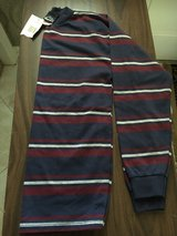 boys new with tag 14/16 horizontal stripe long sleeve shirt in Naperville, Illinois