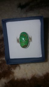 GREEN turquoise set in Sterling silver in Fort Leonard Wood, Missouri