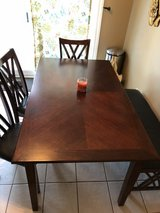 Kitchen table /chairs /bench all included in Yorkville, Illinois