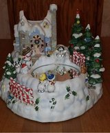 Partylite Snowbell Candle Holder with Skating Rink in Elgin, Illinois