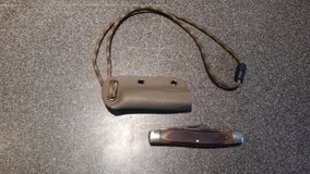 Schrade OldTimer Genuine Bone Senior Folding Pocket Knife with Kydex sheath in Camp Lejeune, North Carolina