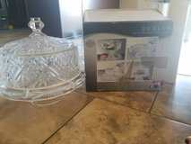 Crystal Cake Dome / Punch Bowl in Fort Leonard Wood, Missouri