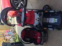 Car seat, stroller, 2 bases in Baytown, Texas