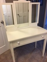 Antique Vanity Table and Chair in Wheaton, Illinois