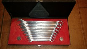 Craftsman stainless steel wrench set in Plainfield, Illinois