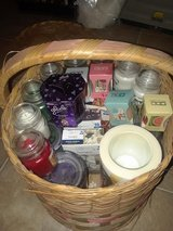 Basket of NEW Holiday Time Scented Candles in La Grange, Texas